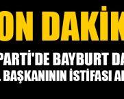 Ak Parti'de Bayburt Dahil 25 İl Başkanının İstifası Alındı