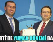 AK Parti'de Yumak Dönemi Başladı