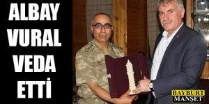 Albay İbrahim Ayhan Vural Veda Etti