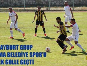 Bayburt Grup Bergama Belediye Spor'u Tek Golle Geçti