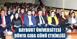 Bayburt Üniversitesi Dünya Gıda Günü Etkinliği