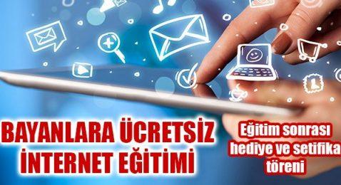 Bayburtlu Bayanlara Ücretsiz İnternet Eğitimi