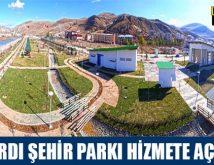Kaleardı Şehir Parkı Hizmete Açılıyor