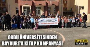 Ordu Üniversitesinden Bayburt'a Kitap Kampanyası