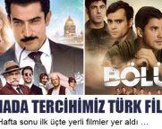 Sinemada Tercihimiz Türk Filmleri Oldu