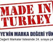 Türkiye'nin Marka Değeri Yükseldi