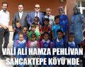 Vali Ali Hamza Pehlivan Sancaktepe Köyü'nde